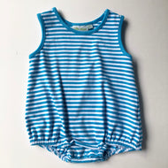 Blue Stripe Knit Bubble