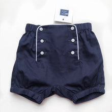 Load image into Gallery viewer, Nautical Navy Bloomers