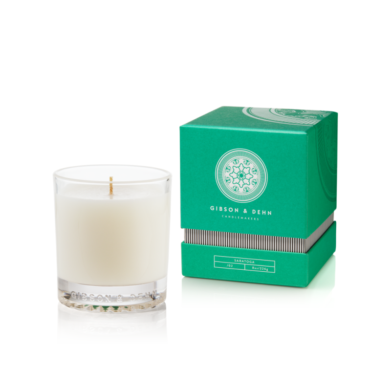Gibson & Dehn White Tea & Cedar Candle