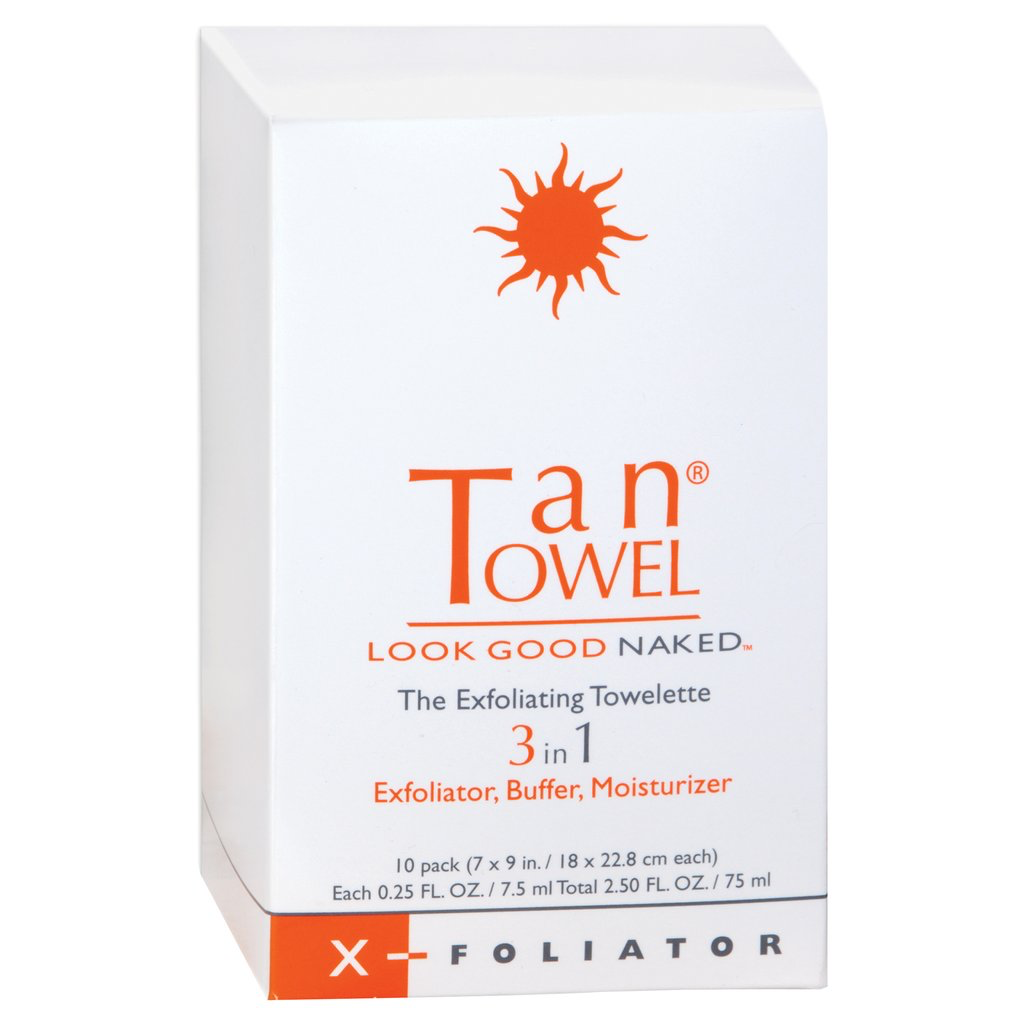 Tan Towels 3in1 - Exf, Buff, Moist