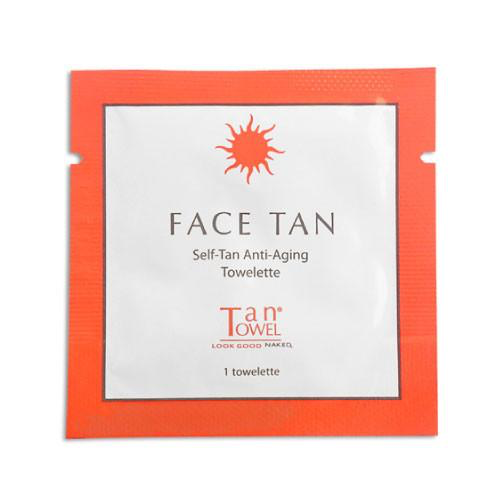Tan Towels Face Tan Towelette (Anti-Aging)