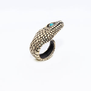 DOUBLE SNAKE RING