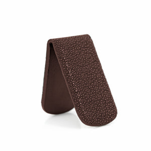 BROWN STINGRAY MONEY CLIP