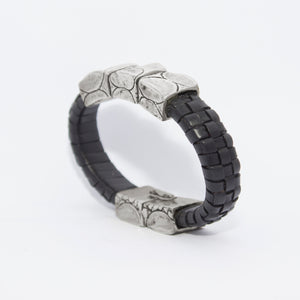 LEATHER CUFF (BLACK)
