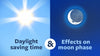 Daylight Saving Time and the Effects on Each Moon Phase