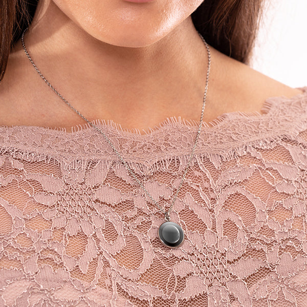 Waning Crescent III Luna Necklace