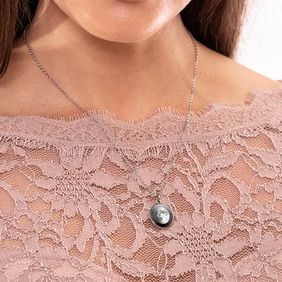 Waxing Gibbous II Luna Necklace