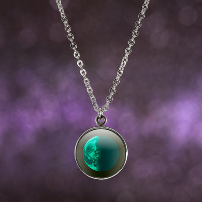 Last Quarter Luna Necklace
