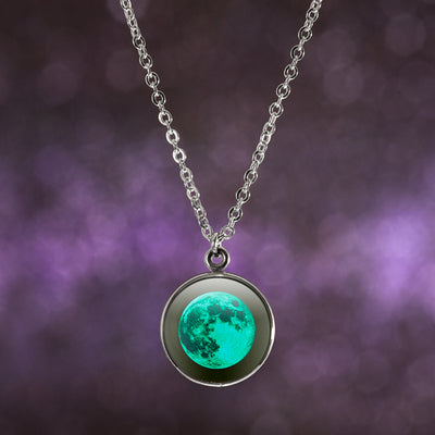 Full Moon Luna Necklace