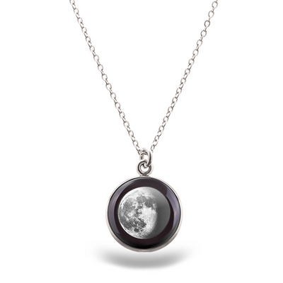 Waning Gibbous III Luna Necklace