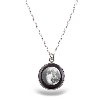 Waning Gibbous II Luna Necklace