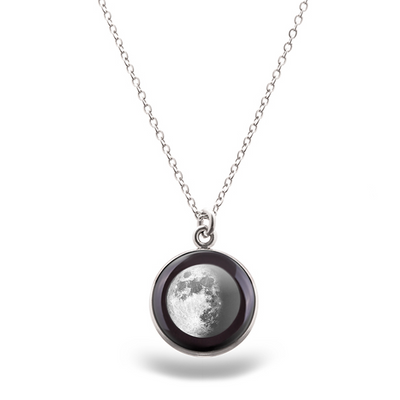 Waxing Gibbous I Luna Necklace