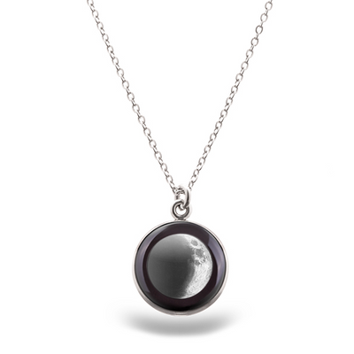 Waxing Crescent III Luna Necklace
