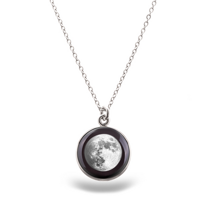 Waxing Gibbous III Luna Necklace