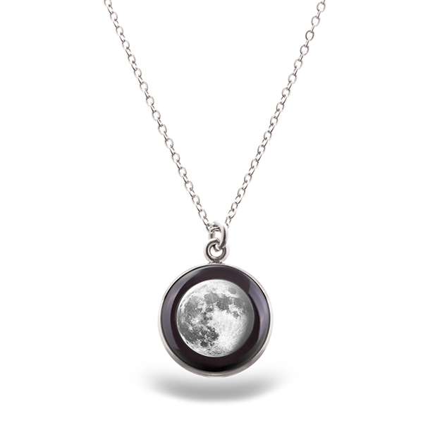 Your Moon Phase Luna Necklace.