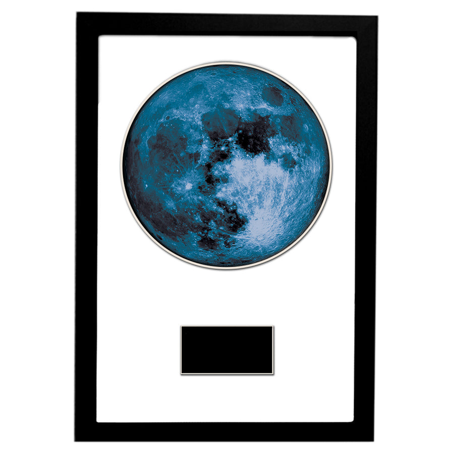 "New Moon 12"" x 18"" Personalized Framed Art"