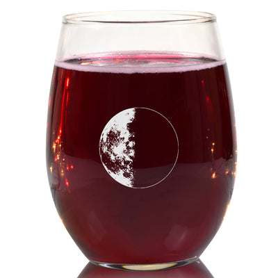 Last Quarter Wine Glass