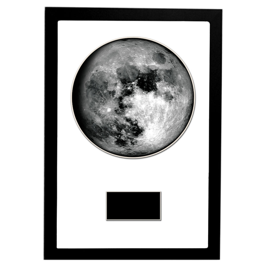 "Waxing Gibbous III 12"" x 18"" Moon Phase Art"