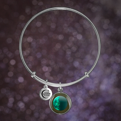 Last Quarter Luna Bangle Bracelet