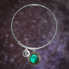 Waxing Gibbous II Luna Bangle Bracelet
