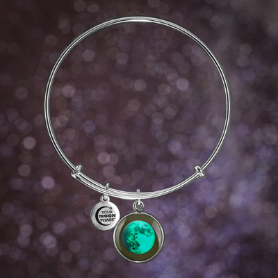 Waxing Gibbous III Luna Bangle Bracelet