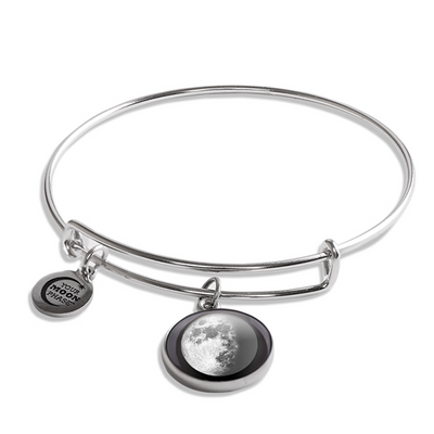 Waxing Gibbous I Luna Bangle Bracelet