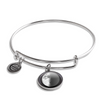 First Quarter Luna Bangle Bracelet