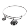 Waxing Crescent I Luna Bangle Bracelet