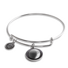 Waxing Crescent III Luna Bangle Bracelet