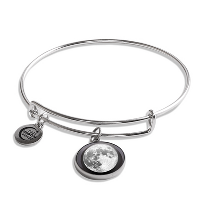 Full Moon Luna Bangle Bracelet