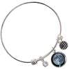 New Moon Birthstone Bangle
