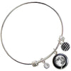 Waning Gibbous I Birthstone Bangle