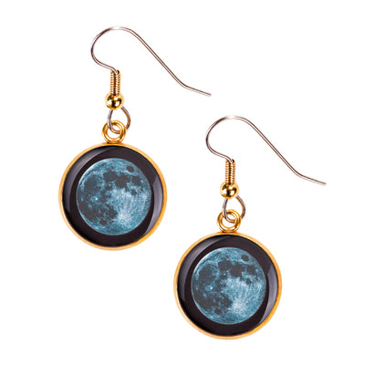 New Moon Gilded Luna Earrings