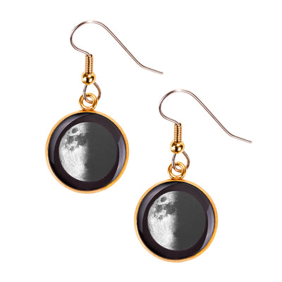First Quarter Gilded Luna Earrings
