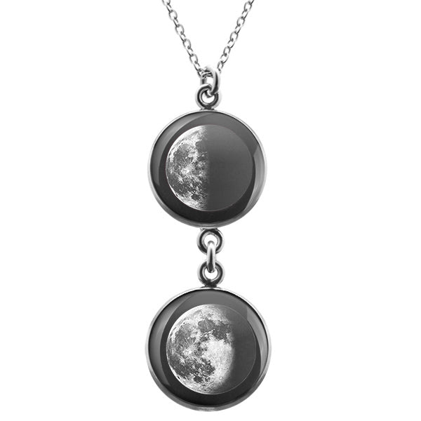 Last Quarter Duo Luna Necklace