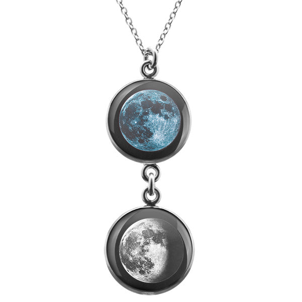 New Moon Duo Luna Necklace