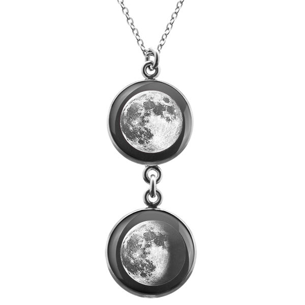 Duo Luna Necklace