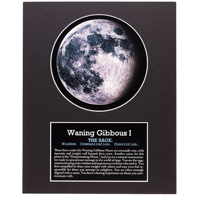 Waning Gibbous I Your Birth Moon Gift Set