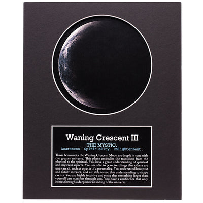 Waning Crescent III Your Birth Moon Gift Set