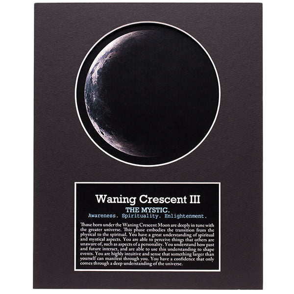 Waning Crescent III Moon Art