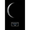 "Waning Crescent III 12"" x 18"" Moon Phase Art"