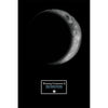 "Waxing Crescent II 12"" x 18"" Moon Phase Art"