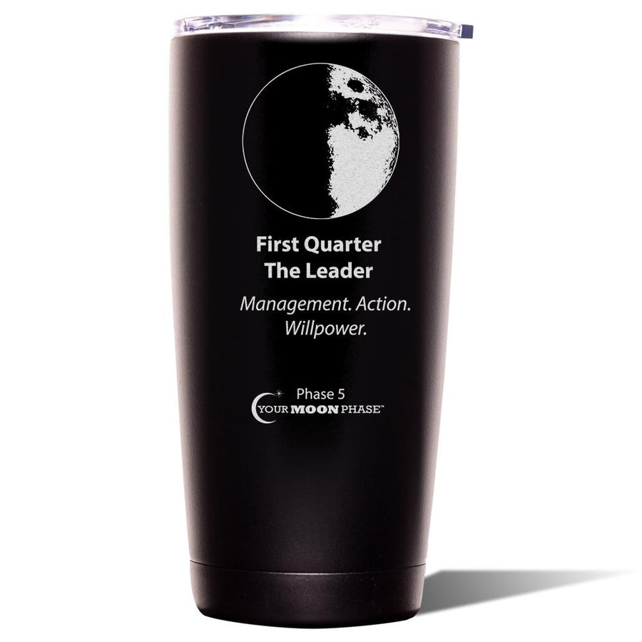 First Quarter Lunar Tumbler