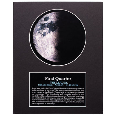 First Quarter Your Birth Moon Gift Set