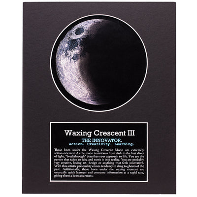 Waxing Crescent III Your Birth Moon Gift Set