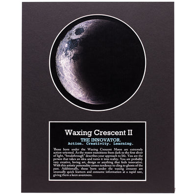 Waxing Crescent II Your Birth Moon Gift Set