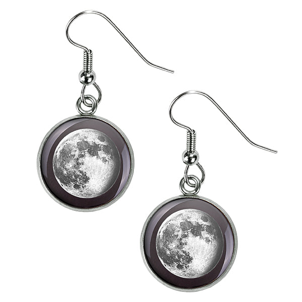 Waning Gibbous I Luna Earrings