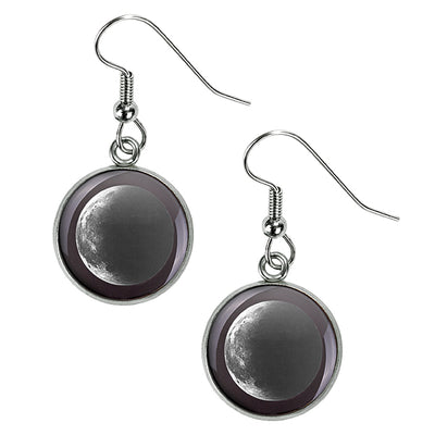 Waning Crescent II Luna Earrings
