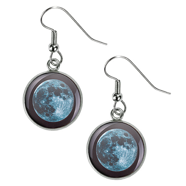 New Moon Luna Earrings