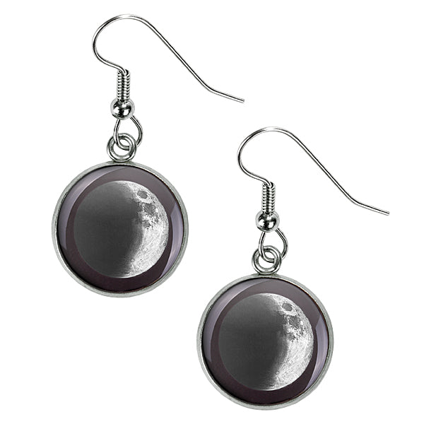 Waxing Crescent III Luna Earrings